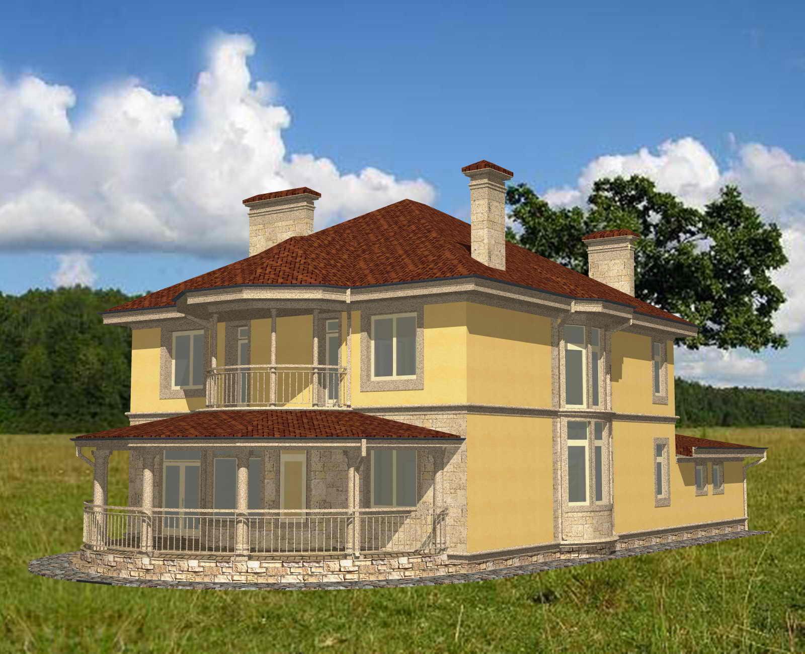 Типовой проект дома ЭЛЕГАНТ