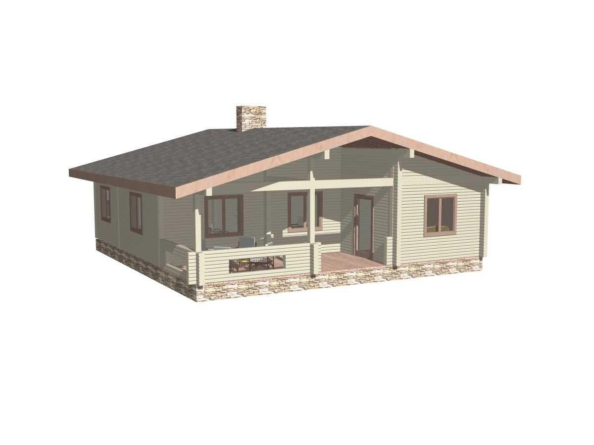 Типовой проект Гостевого дома №2