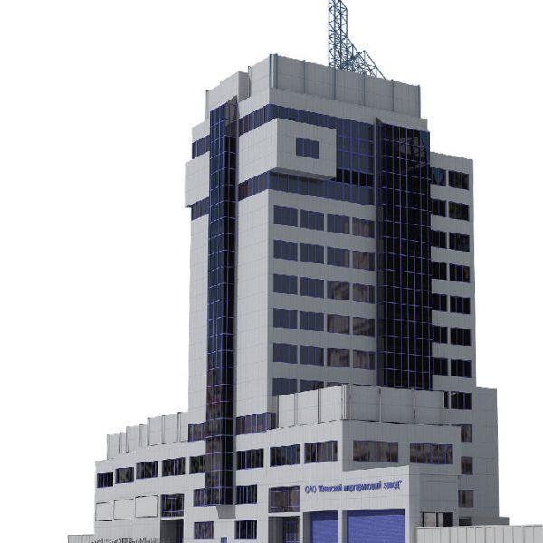 Проект общественного здания - Маргариновый завод в Киеве