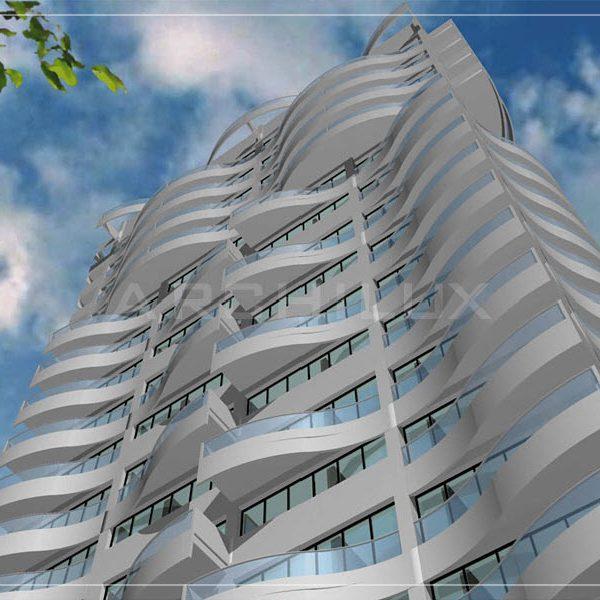 Проект многоэтажного жилого дома в Киеве