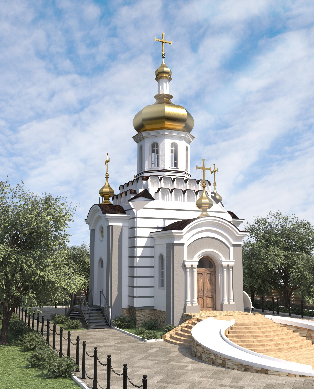 Современная архитектура: Проект храма, он же есть и типовой проект храма