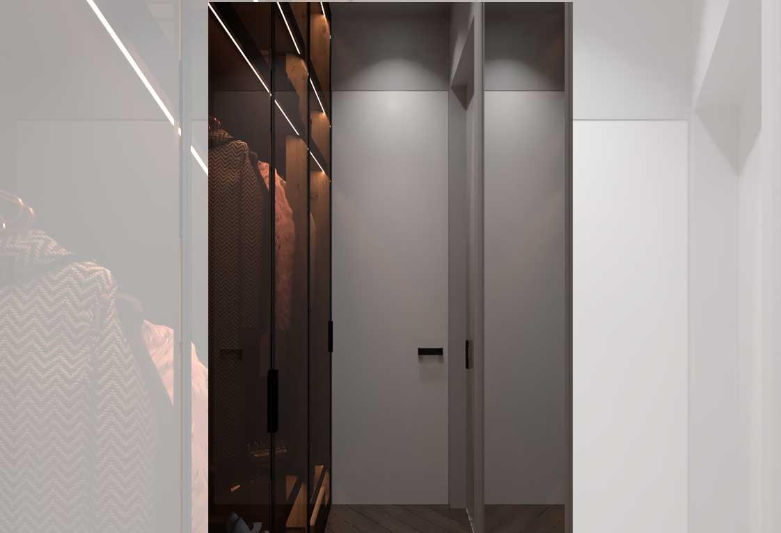 Дизайн интерьера — Визуализация гардеробной — 36