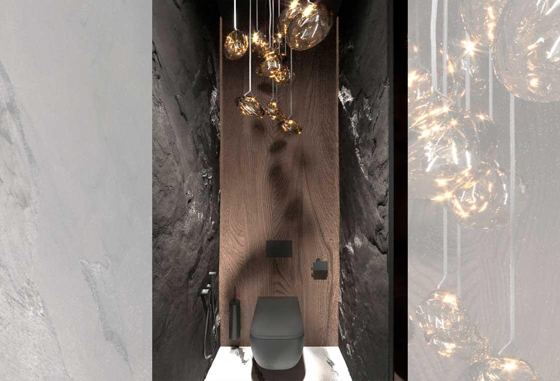 Дизайн проект интерьера квартиры — Визуализация санузла — 06