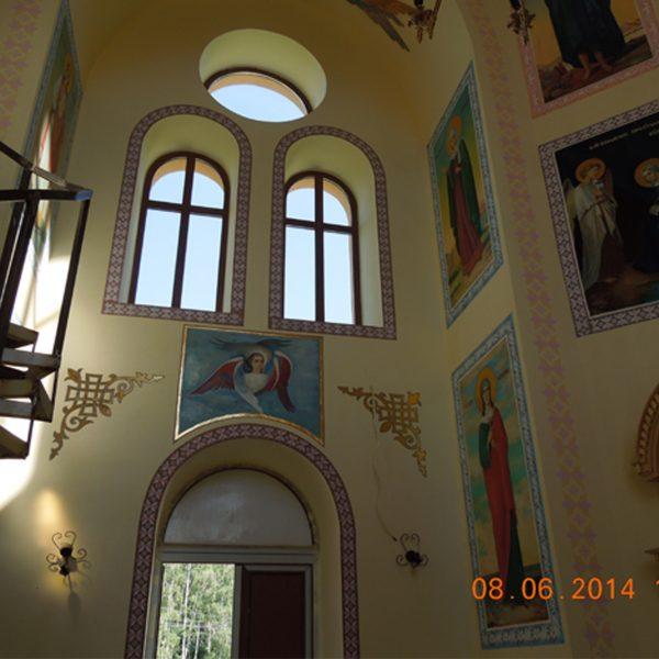 Проект храма - реализация внутри