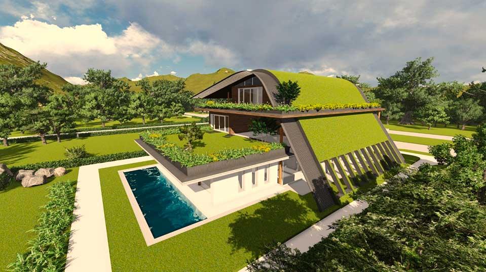 Проект виллы – проектирование домов от архитектурного бюро Архилюкс