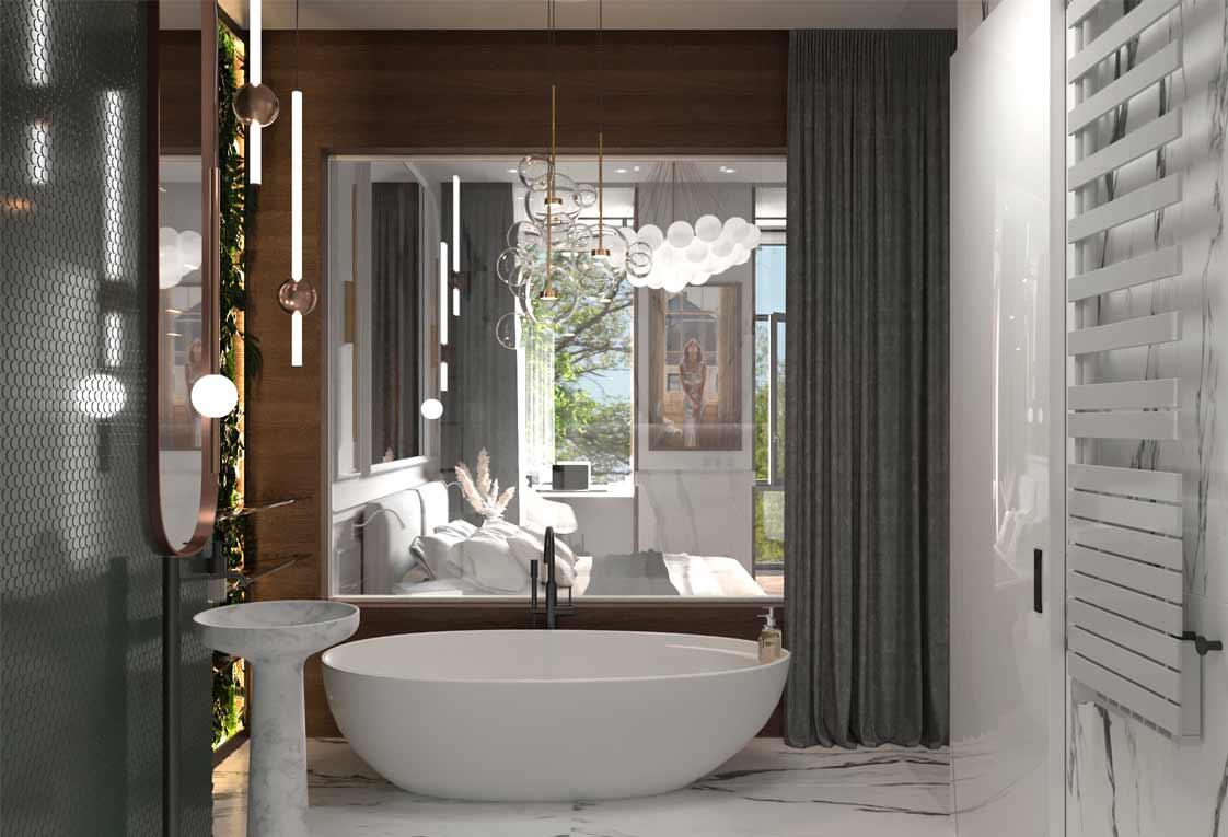 Дизайн интерьера в Киеве — Проект ванной комнаты — 40
