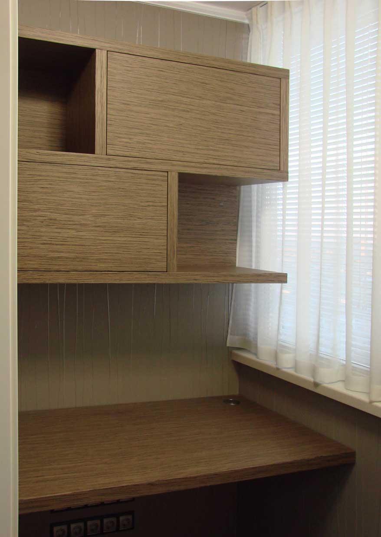 Перепланировка квартиры, дизайн балкона-30