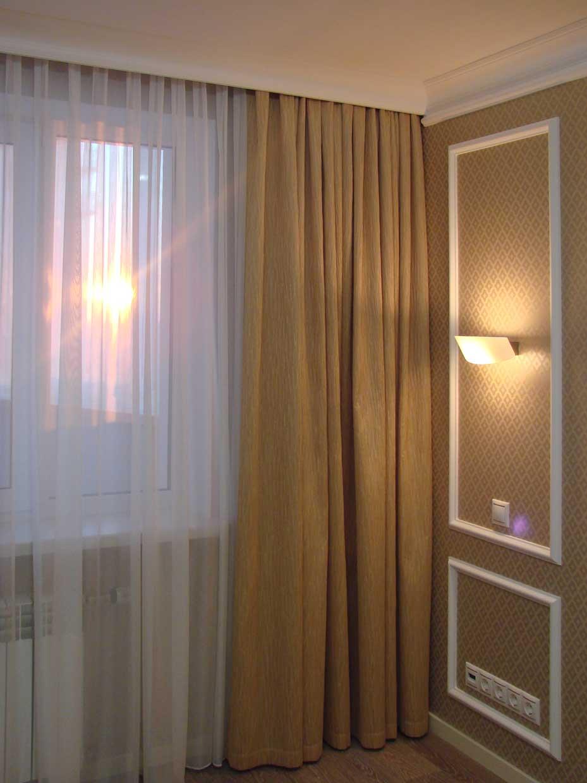 Проект комнаты в дизайне интерьера-38