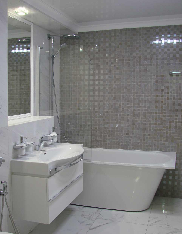 Дизайн интерьера санузла, ванная-42