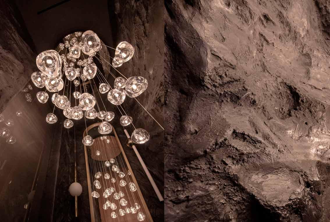 Барельеф на стене под натуральный камень-07